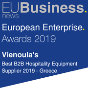 Vienoulas Greece 2019 European Enterprise Awards Winners
